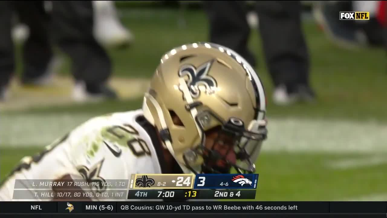 Saints vs Broncos - Week 12 - Nov 29, 2020